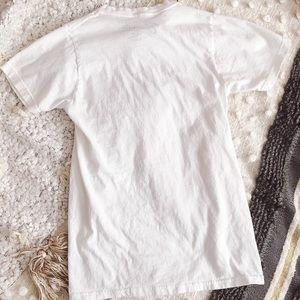 Bravado Tops - Distressed Rolling Stones T-Shirt